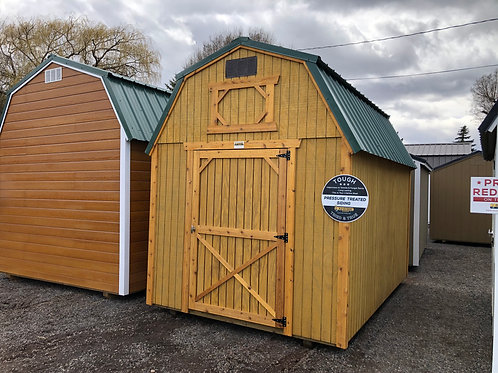 8x12 Lofted Barn Style Shed