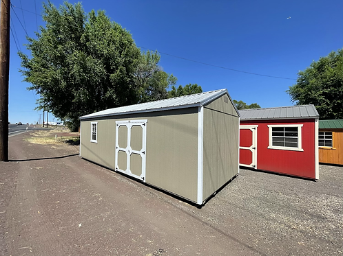 12x28 Utility Style Shed With Side Door