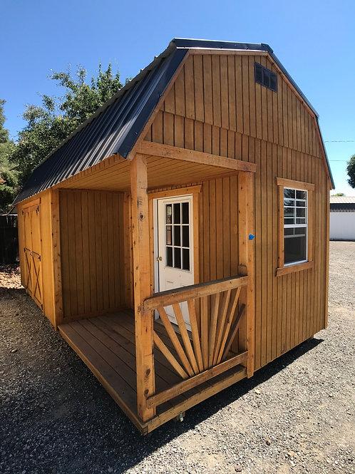 10x20 Lofted Barn Side Porch