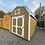 Thumbnail: 10x20 Lofted Barn Front Door
