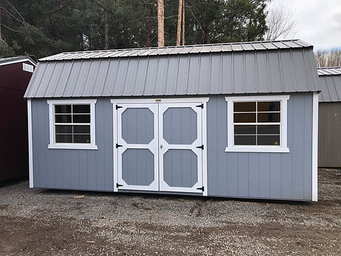 10x20 Lofted Barn Style Shed With Side Doors