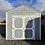Thumbnail: 10x16 A Frame Front Door