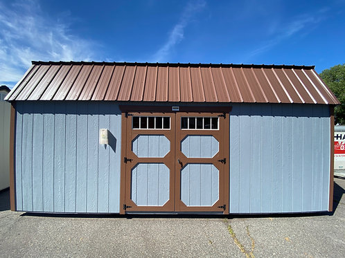 10x20 Lofted Barn Style Side Entry
