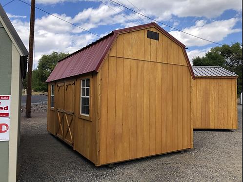 10x16 Side Door Lofted Barn