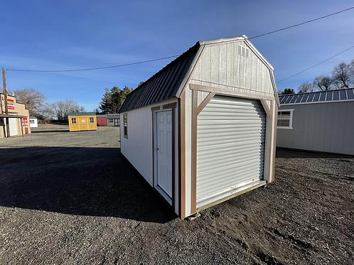 10x20 Lofted Barn Garage Package