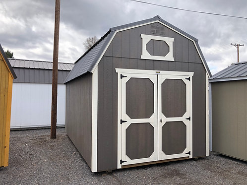10x16 Lofted Barn Style Shed With Upgraded Paint