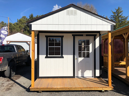 10x20 Utility Style Front Porch
