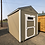 Thumbnail: 8x12 Utility Style Shed