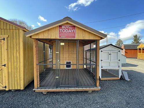 8x12 Premium Insulated Dog Kennels