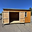 Thumbnail: 10x16 Utility Style Shed Side Door