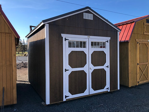 10x12 Utility Shed With Windows In Door