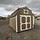 Thumbnail: 10x16 lofted barn with double doors