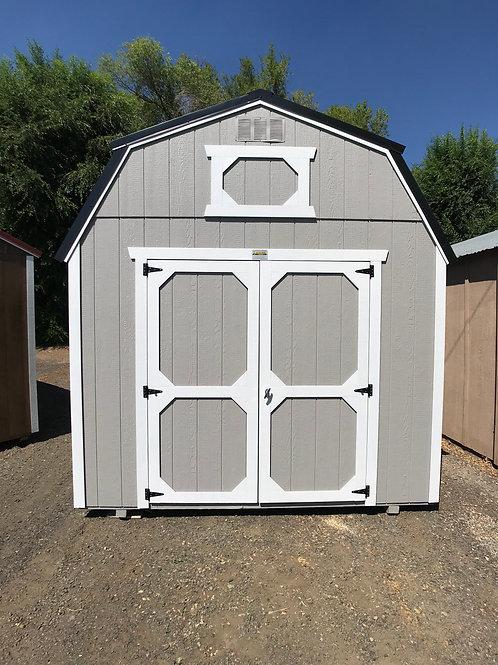 10x20 Lofted Barn Front Entrance