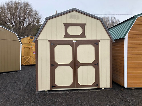 10x12 Lofted Barn Style Shed