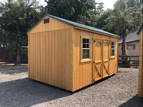 10x16 Side Door Utility Shed