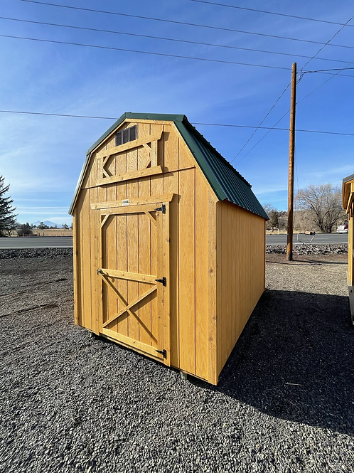 8x12 Lofted Barn Front Door