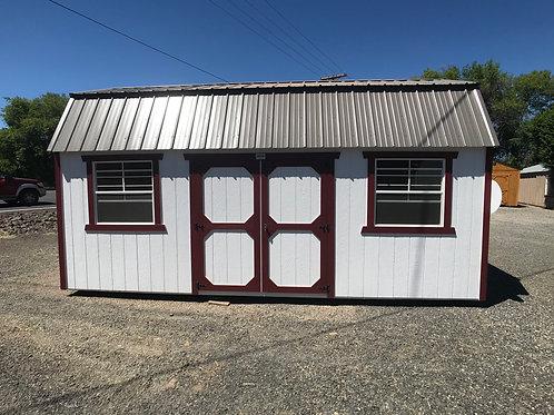 10x20Lofted Barn Side Entry