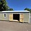 Thumbnail: 12x28 Utility Style Shed With Side Door
