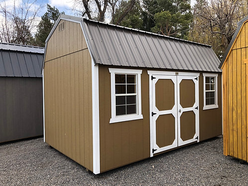 10x16 Lofted Barn Style Shed With Side Doors