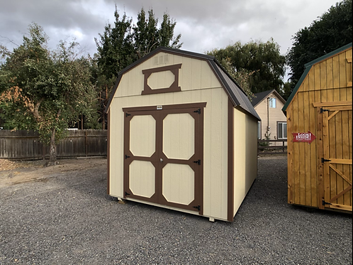 10x14 Lofted Barn Storage Shed