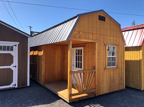 REPO 10x20 Lofted  Barn Side Porch
