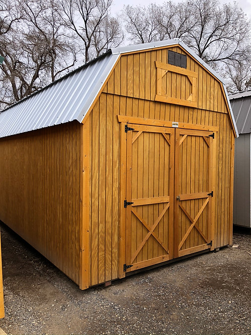 10x20 Lofted Barn Style Shed