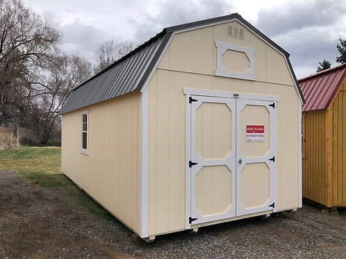 12x24 Lofted Barn Style Shed