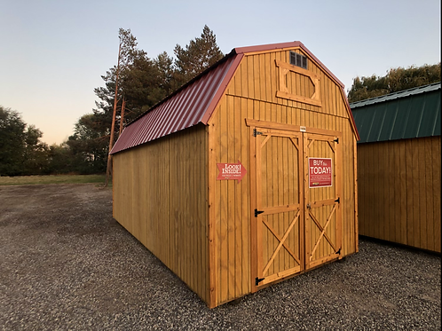 10x20 Lofted Barn Storage Shed