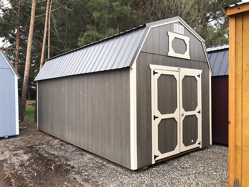 10x20 Lofted Barn Style Shed With Shelves