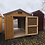 Thumbnail: 8x12 Utility Style Motorcycle Shed
