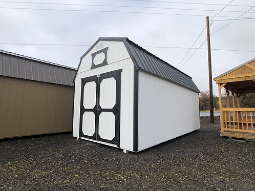 10x20 Lofted Barn w/ Double Doors