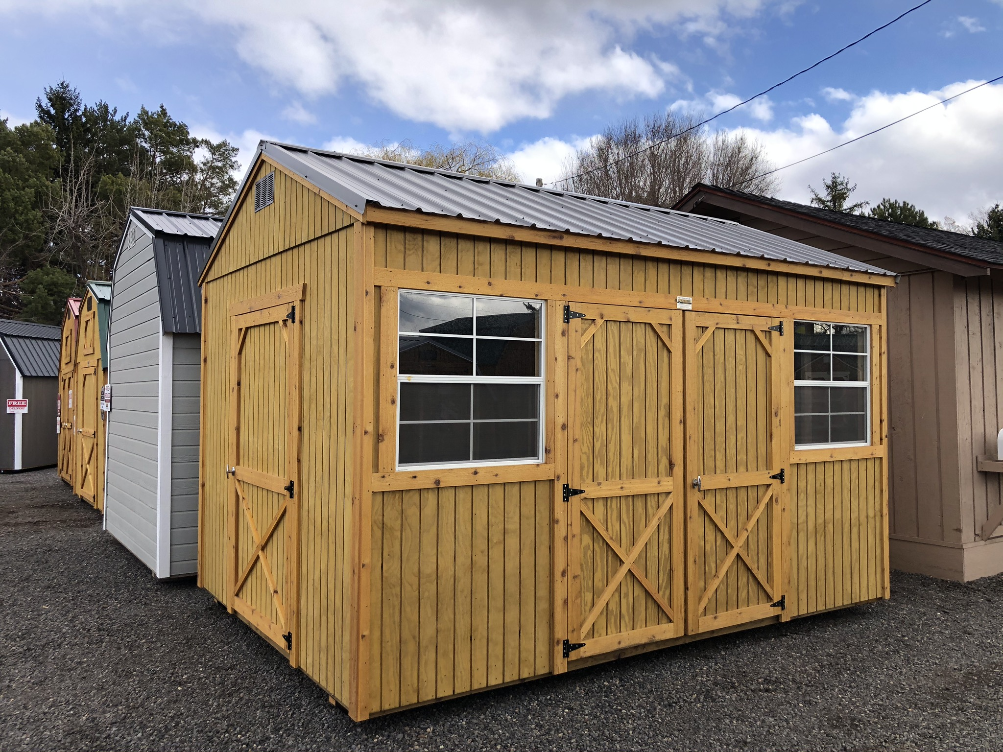 Central Oregon Sheds - Old Hickory Shed Dealer servicing all of Central Oregon.  Man caves, she shed