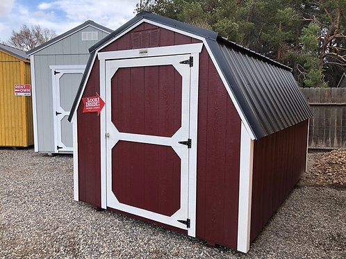 8x12 Barn Style Shed