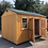 Thumbnail: 10x16 Side Door Utility Shed