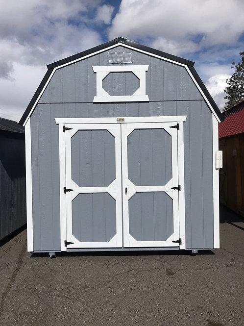 10x16 Lofted Barn Front Doors