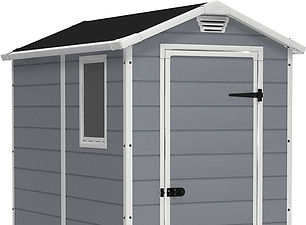 Keter Manor Small Shed 4x6 Resin Outdoor