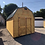 Thumbnail: 10x20 Lofted Barn Front Door Style Shed