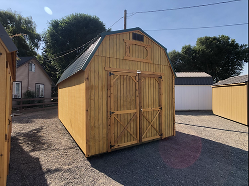 10x20 Lofted Barn Front Door Style Shed