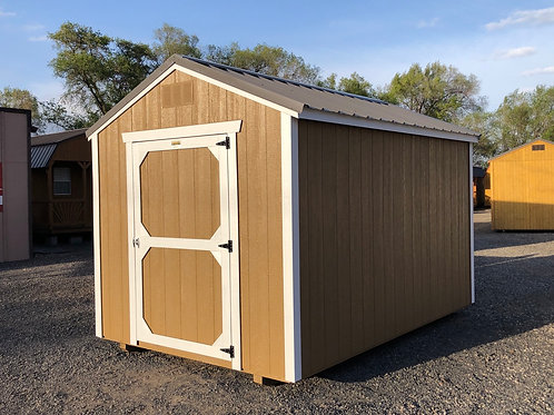 8x12 Utility Style Shed