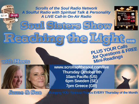 Soul Sisters Show Thursday October 8th  2020