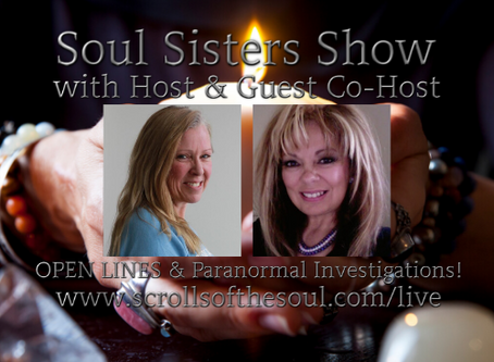 Soul Sisters Show Thursday December  19th US/EU & Friday December 20th AU 2019