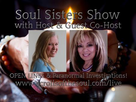 Soul Sisters Show Thursday December  19th US/EU & Friday December 20th AU 2019