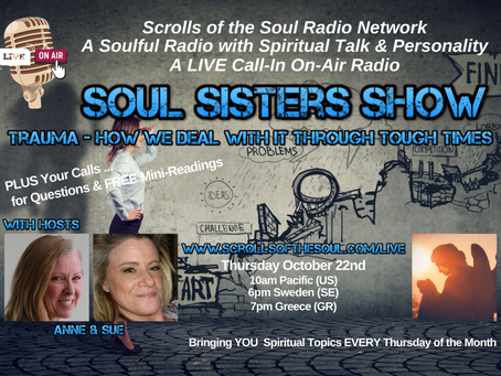 Soul Sisters Show Thursday          October 22nd 2020