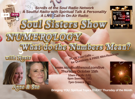 Soul Sisters Show Thursday October 15th 2020