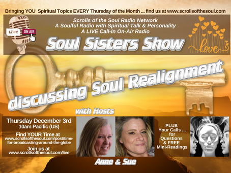 Sisters Show Thursday December 3rd  2020