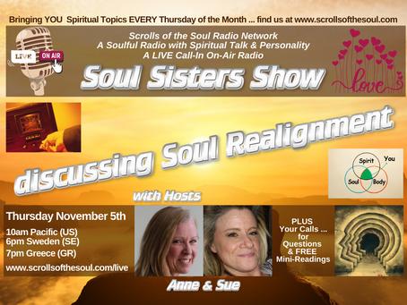 Soul Sisters Show Thursday November  5th 2020