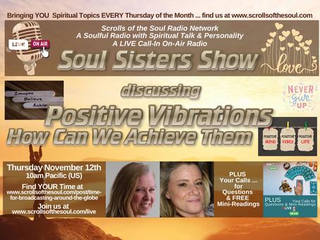 Soul Sisters Show Thursday November  12th 2020