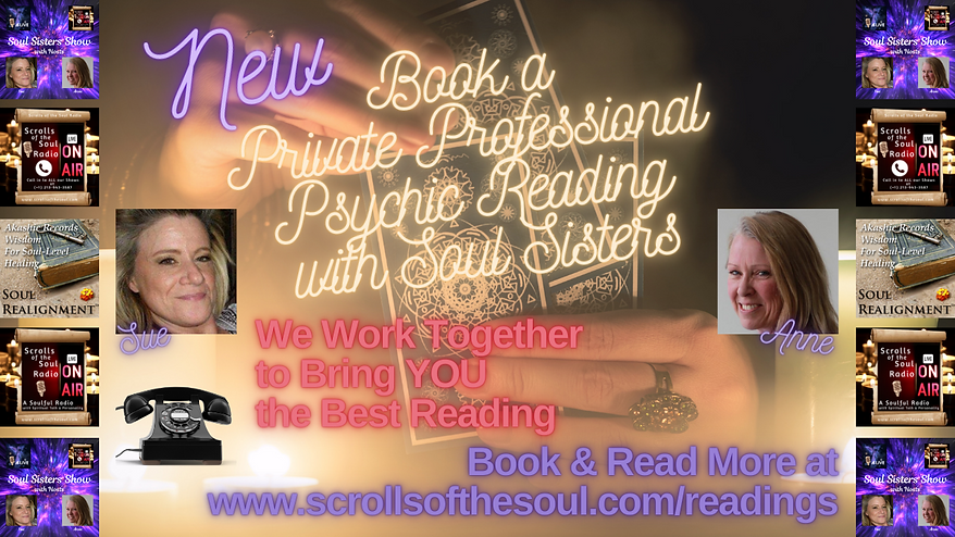 Soul Sisters Professional Readings SSR 2