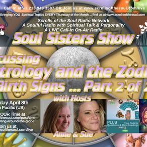 Sisters Show Thursday April 8th 2021