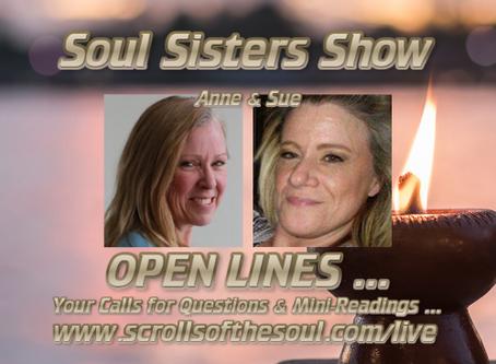 Soul Sisters Show Thursday April 23rd US/EU 2020